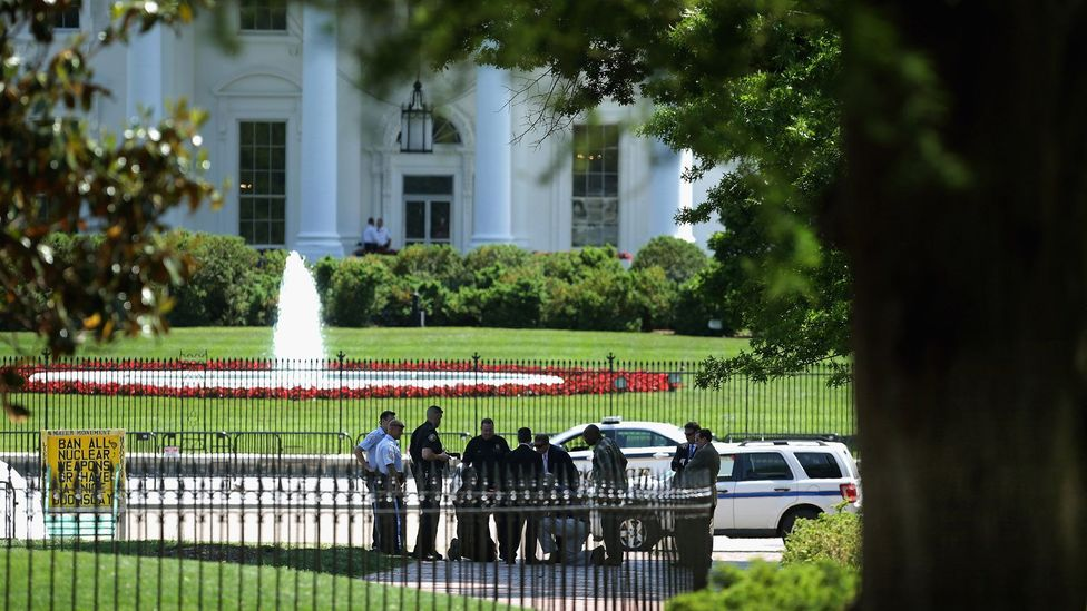 More drones have been flown around highly sensitive government buildings, from the White House in the US to the Prime Minister's office in Japan (Credit: Getty)