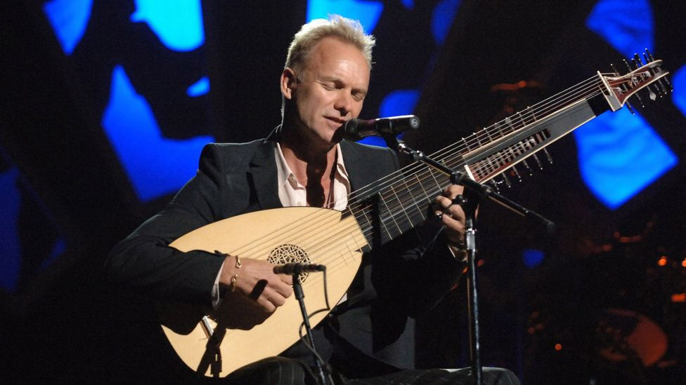 Sting released an album of Dowland covers through classical label Deutsche Grammophon in 2006 and remains an avid lutenist (Credit: Alamy)