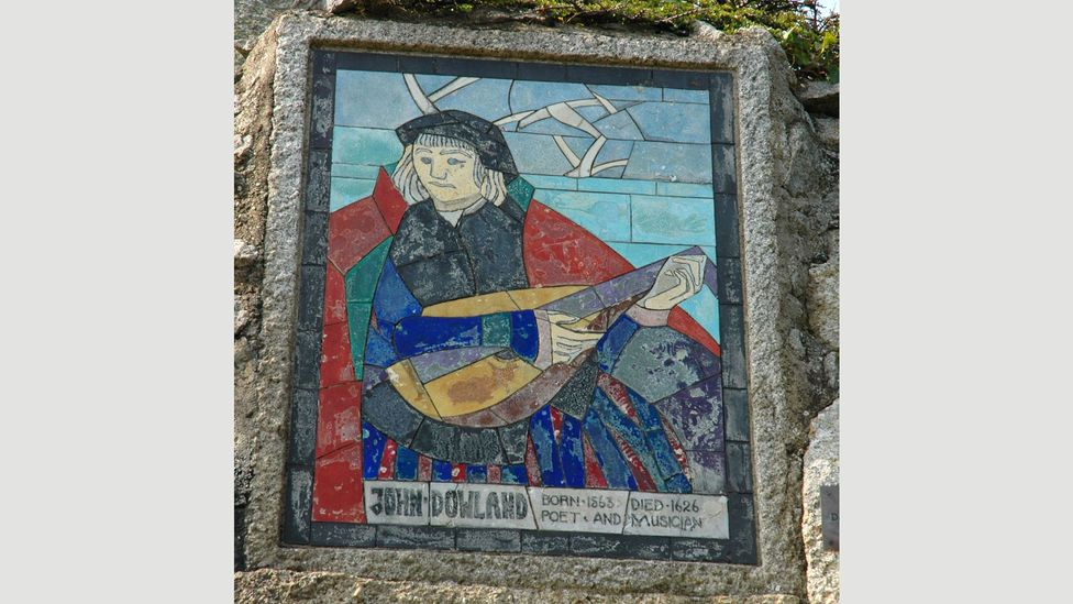 This memorial to Dowland stands in the Dalkey suburb of Dublin (Credit: Alamy)