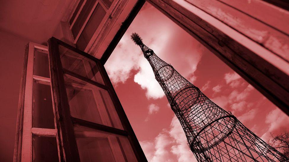 Russian radio mast (Credit: iStock)