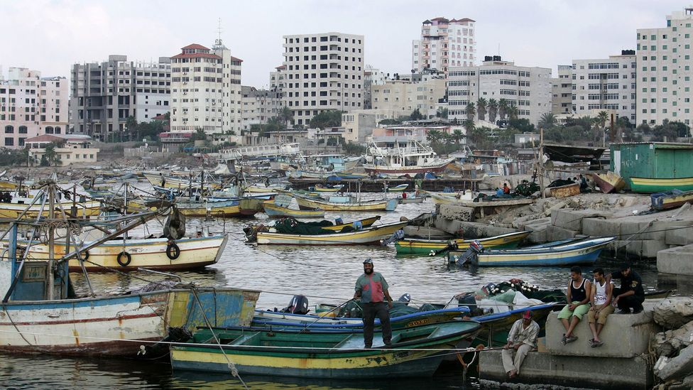 Gaza was once the main port along the Mediterranean for traders en route to the Arabian Peninsula or Africa (Credit: Abid Katib / Stringer)