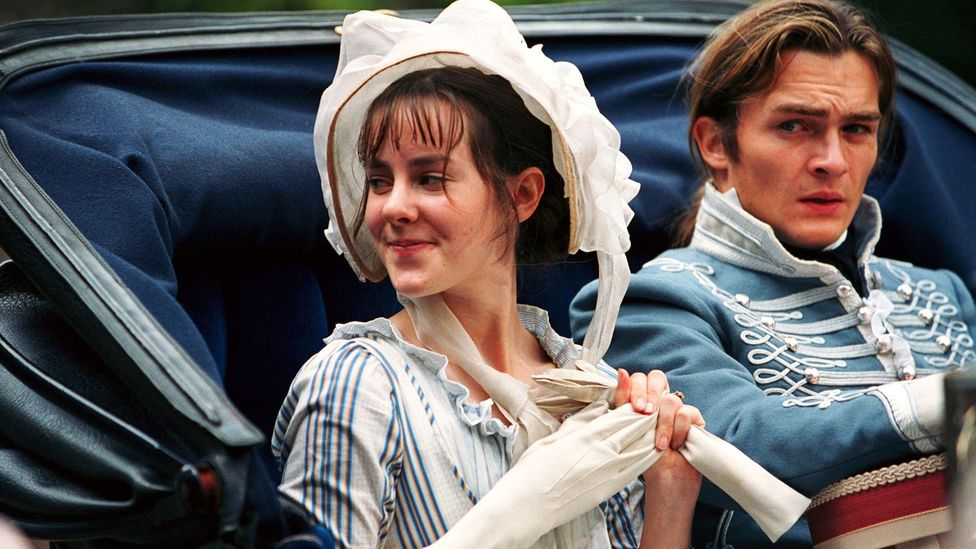Marrying at 16 years old gives Pride and Prejudice's Lydia Bennet reason to feel triumphant, particularly over her older sisters (Credit: Focus Features/Alamy)