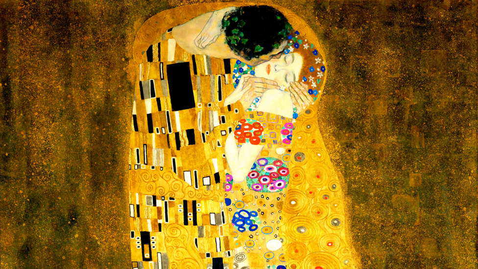 Gustav Klimt's painting The Kiss has been given a probing historical treatment by Janina Ramirez in her Art Detective podcasts (Credit: Alamy)