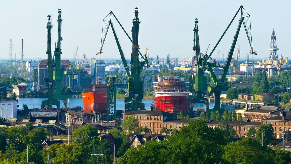 The Gdańsk Shipyard was the epicentre of a struggle that redefined Europe (Credit: Hemis/Alamy)