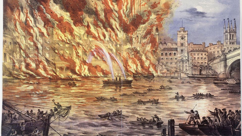 The Great Fire of London paved the way for a new generation of public buildings (Credit: Alamy)