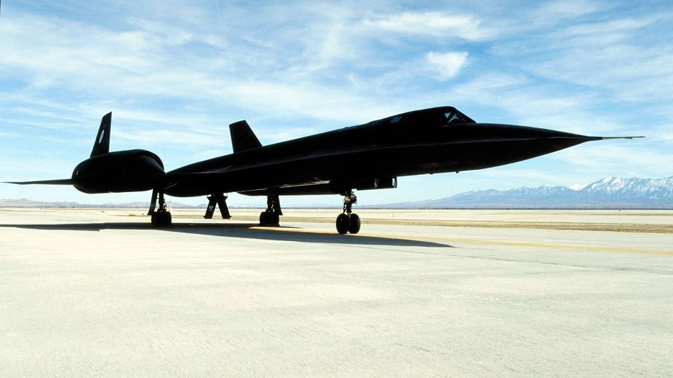 Lockheed SR-71 Blackbird (Credit: Alamy)