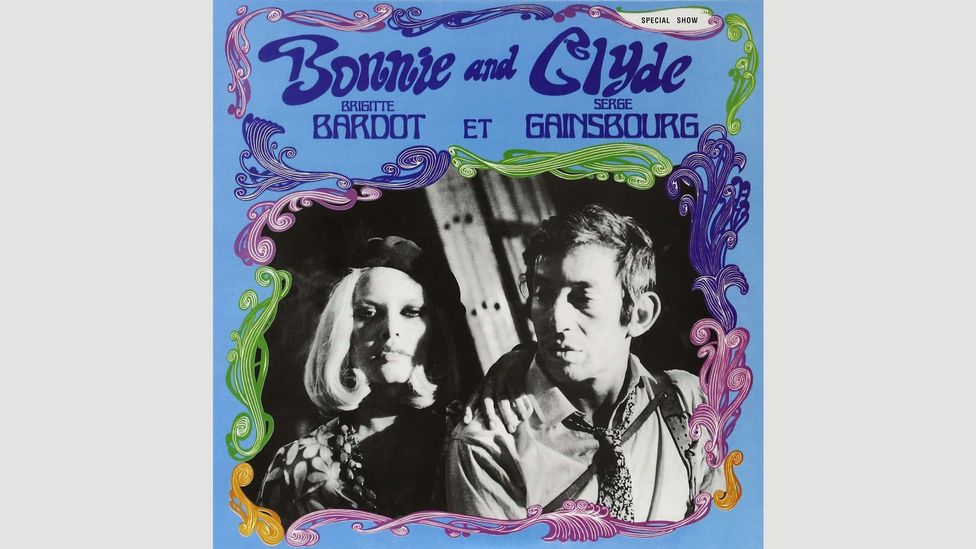 Serge Gainsbourg released an album with Brigitte Bardot inspired by the lives of Bonnie and Clyde – it came out a year after Penn's film (Credit: Alamy)