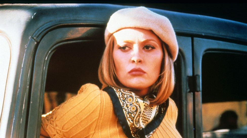 Faye Dunaway as Bonnie Parker in Bonnie and Clyde (Credit: Alamy)