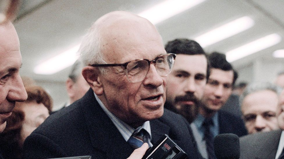 The power of the bomb persuaded nuclear physicist Andrei Sakharov to renounce nuclear weapons (Credit: Science Photo Library)