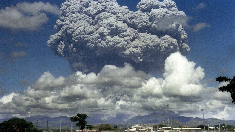 If a supervolcano erupts, it will be many, many times more powerful than this Indonesian volcano (Credit: Getty Images)