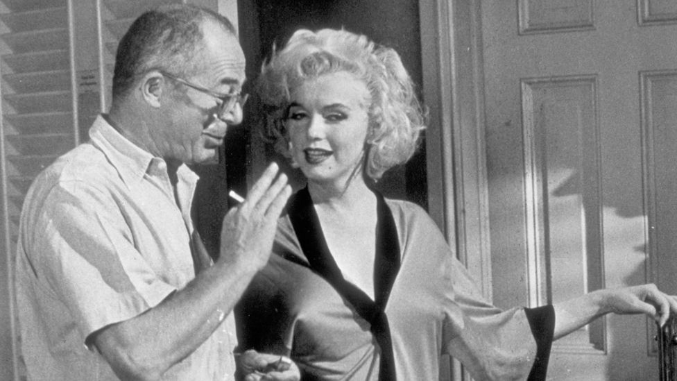 Several of those involved in the film, such as Billy Wilder and Marilyn Monroe, had reinvented themselves, just as the characters do (Credit: Alamy)