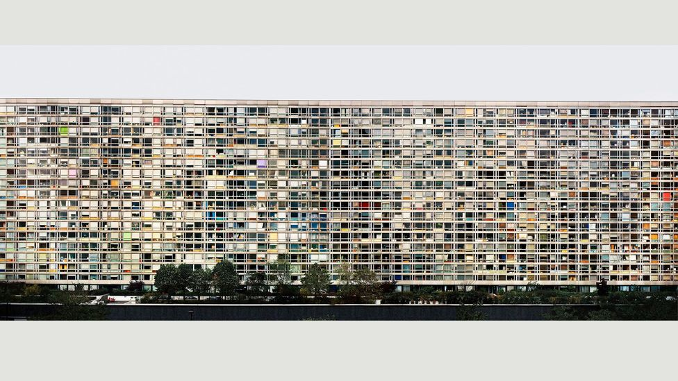 Andreas Gursky's photograph of a Montparnasse tower block is a stunning mosaic of colour (Credit: Andreas Gursky)