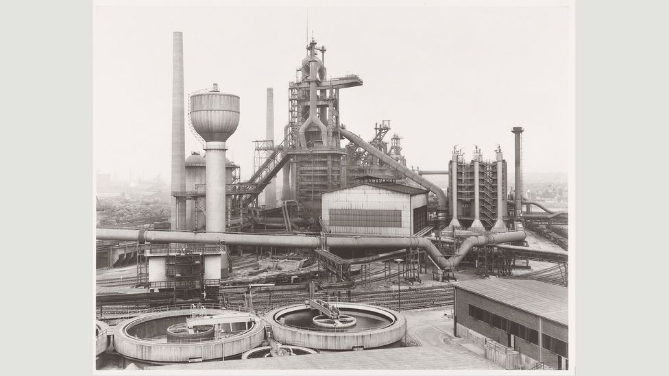 The Bechers documented their subjects – often the architecture of heavy industry – in a scrupulously objective fashion (Credit: Estate Bernd & Hilla Becher)