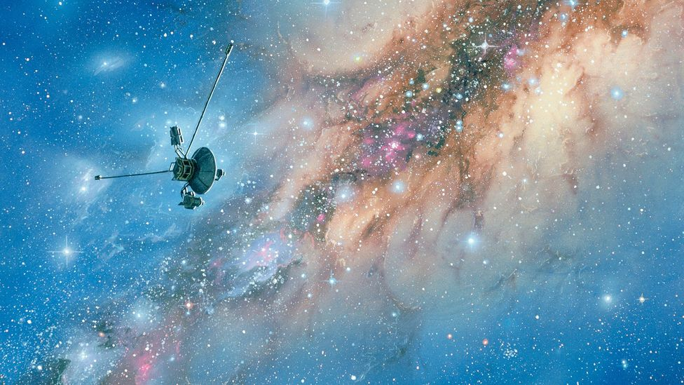 Voyager in deep space (Credit: Science Photo Library)