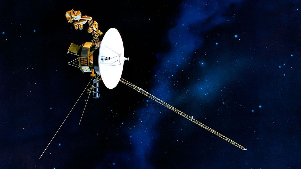 Voyager I's fuel sources generate about as much energy as the light inside a fridge (Credit: JPL/Nasa)