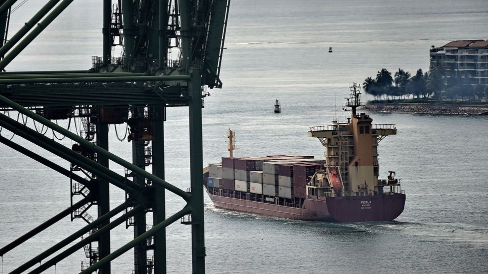 The size of the world's shipping fleet has doubled, by weight, since 2004 (Credit: Getty Images)