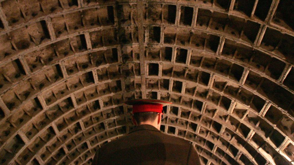 Soviet nuclear shelter (Credit: Getty Images)