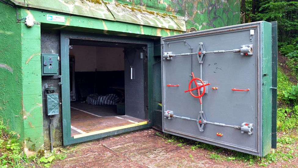 Polish fallout shelter (Credit: EPA)