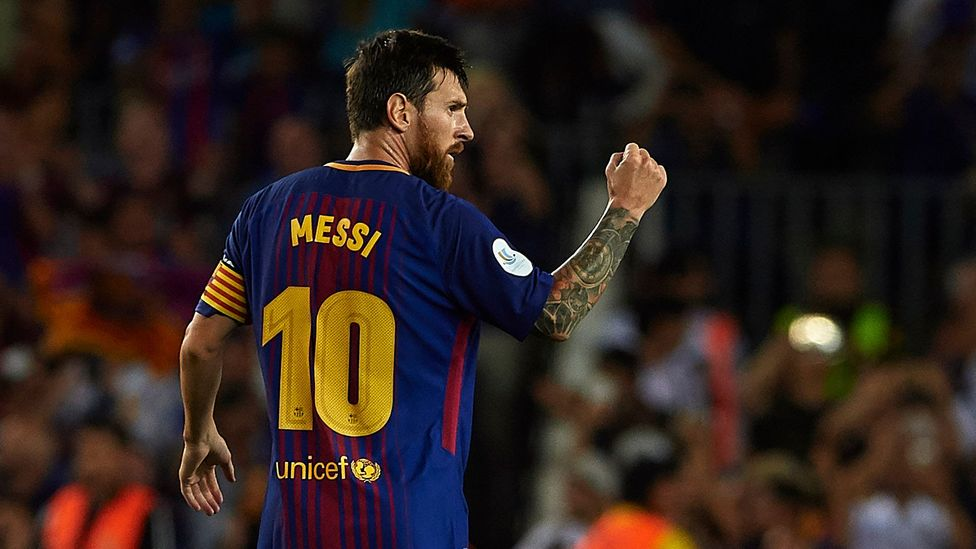 Lionel Messi has a 300m-euro buyout clause in his contract – which would eclipse Neymar's record-breaking fee (Credit: Getty Images)