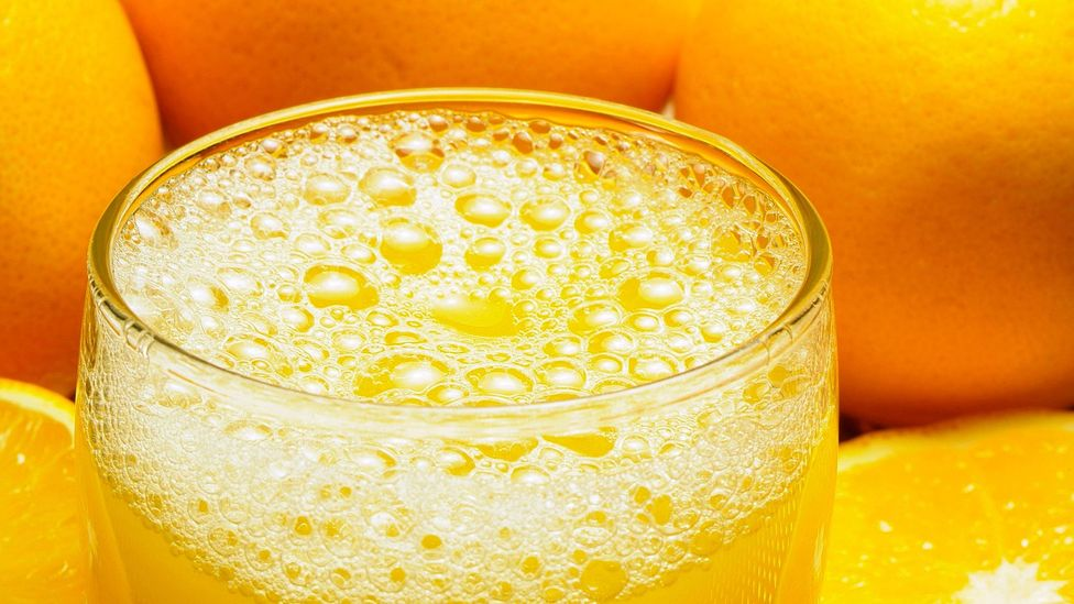 The orange in your orange juice is sometimes boosted with flavours that mimic the real thing (Credit: Alamy)