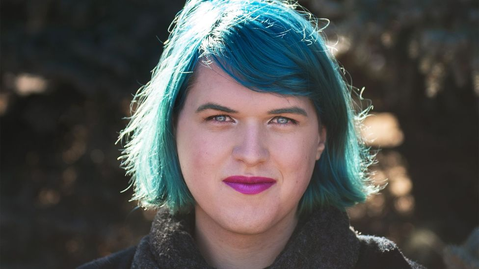 Quinn Nelson's colleagues weren't all sure what to do when they came out as non-binary at work (Credit: Elizabeth S. Cameron/Quinn Nelson)