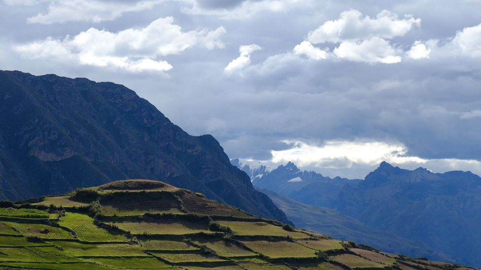 Ancient Inca ruins in the Andes Mountains, Peru (Credit: Kevin Floerke)