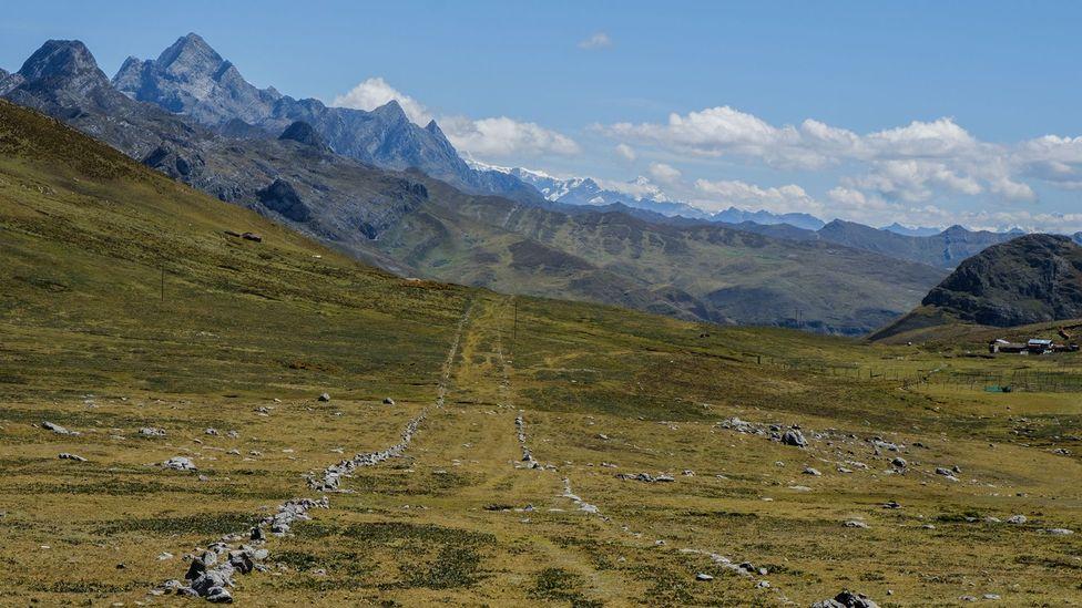 The Qhapaq Ñan is an Inca roadway across South America (Credit: Kevin Floerke)