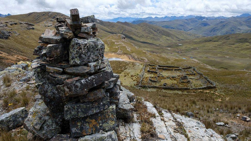 The Pariachuco ruins in northern Peru