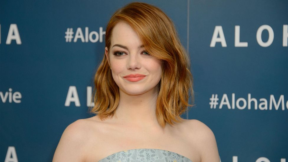 Emma Stone – the highest paid female actor - makes her appearance at number 15 on the list of star earnings (Credit: Alamy)
