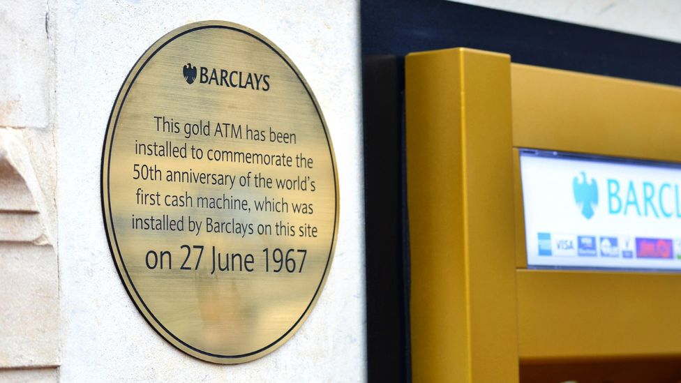 ATM is a boring but brief alternative to the British cash point, cash machine and hole in the wall (Credit: Getty Images)