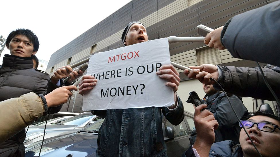 MtGox, a Bitcoin exchange based in Tokyo, collapsed after losing nearly $500m in Bitcoin to what it says was a hack attack (Credit: Getty Images)