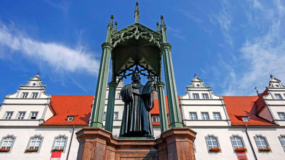 Martin Luther was the father of the Reformation (Credit: Hans-Peter Merten/Getty Images)