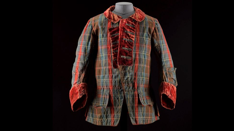 A tartan frock coat was worn by Bonnie Prince Charlie and is a centrepiece of an exhibition at the National Gallery of Scotland (Credit: National Gallery of Scotland)