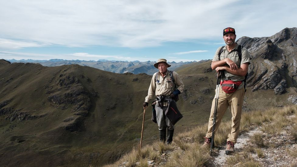 Nick Stanziano and John Leivers plan to transform part of the Qhapaq Ñan into a trekking route (Credit: Kevin Floerke)