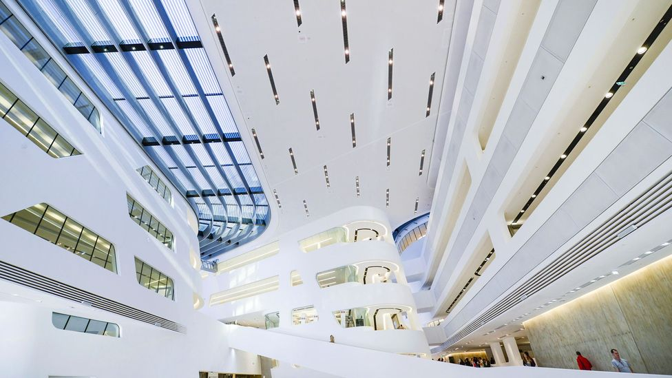 Library and Learning Centre, University of Vienna, Austria