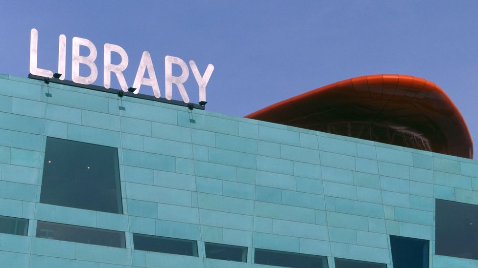 Peckham Library, London, UK