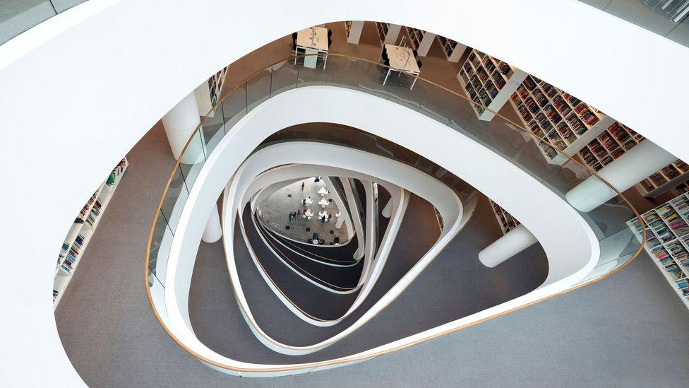 Sir Duncan Rice Library, University of Aberdeen, UK