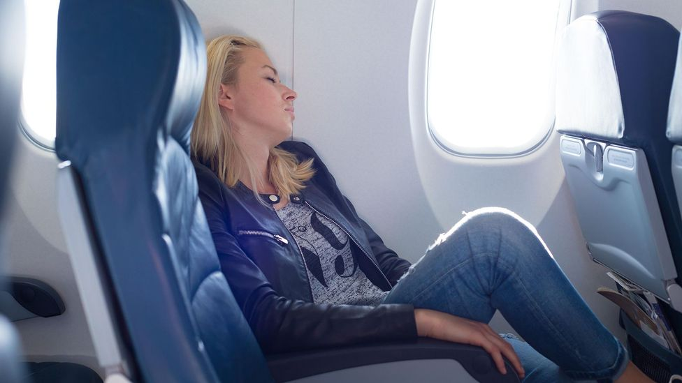 The mild hypoxia we feel in a flight may help make us more tired (Credit: Alamy)