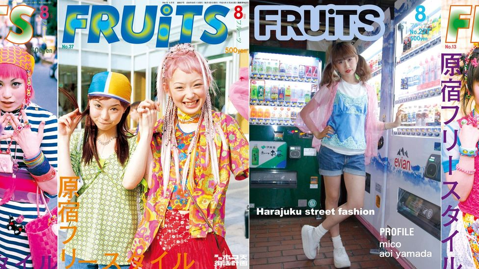 FRUiTS magazine was a cult print publication created by Shoichi Aoki that documented the extraordinary street style of Harajuku, Tokyo in the 1990s (Credit: Shoichi Aoki)