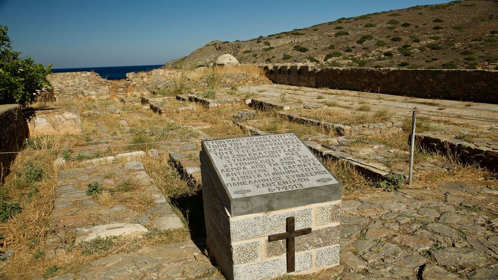 A small cemetery houses the remains of leprosy victims (Credit: Elizabeth Warkentin)