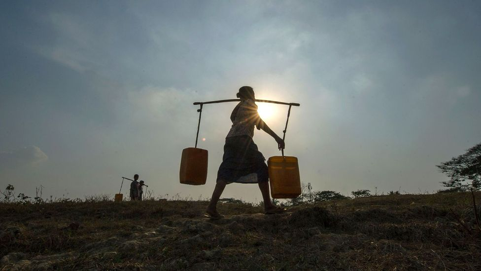 Water ensures political stability because countries must share bordering water sources and export crops and food that require water to grow (Credit: Getty Images)
