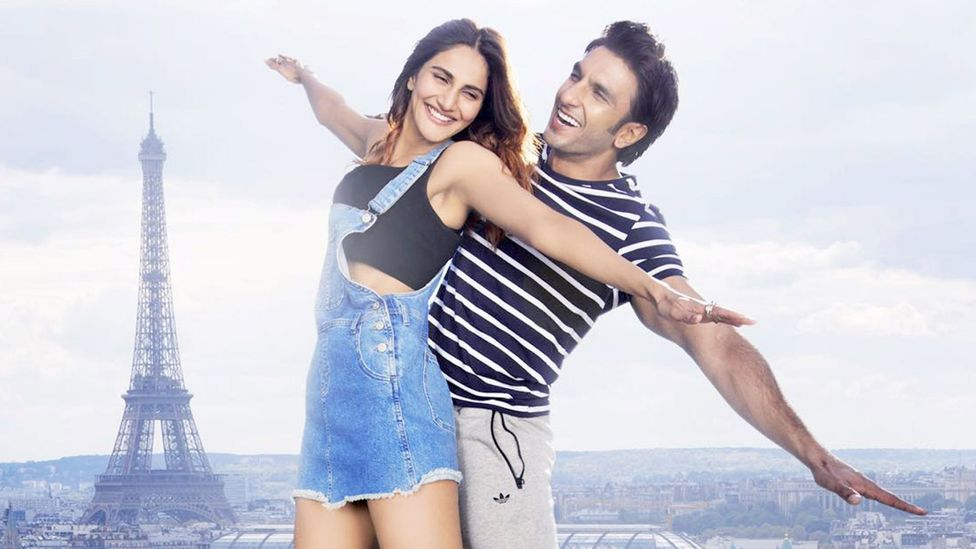 The 2016 film Befikre exemplifies a problem in Bollywood – that depictions of Western milieus, whether of the US, UK or France, feel interchangeable (Credit: Yash Raj Films)