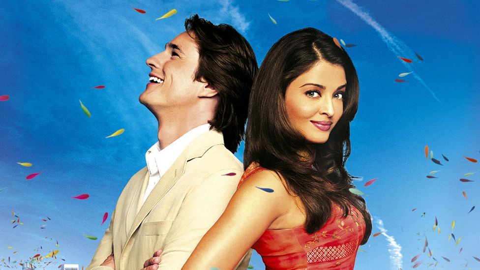 British-Indian director Gurinder Chadha initially presents the stereotype of Westerners as fuddy-duddies in Bride and Prejudice, but subverts it later in the film (Credit: Pathé)