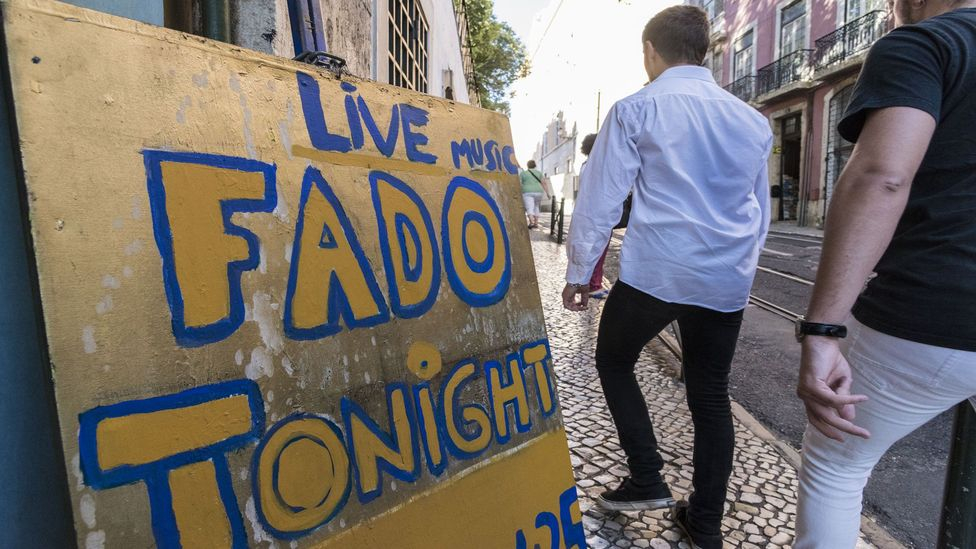 Fado is a traditional music and dinner experience for which Portugal is famous (Credit: Horacio Villalobos - Corbis/Getty Images)