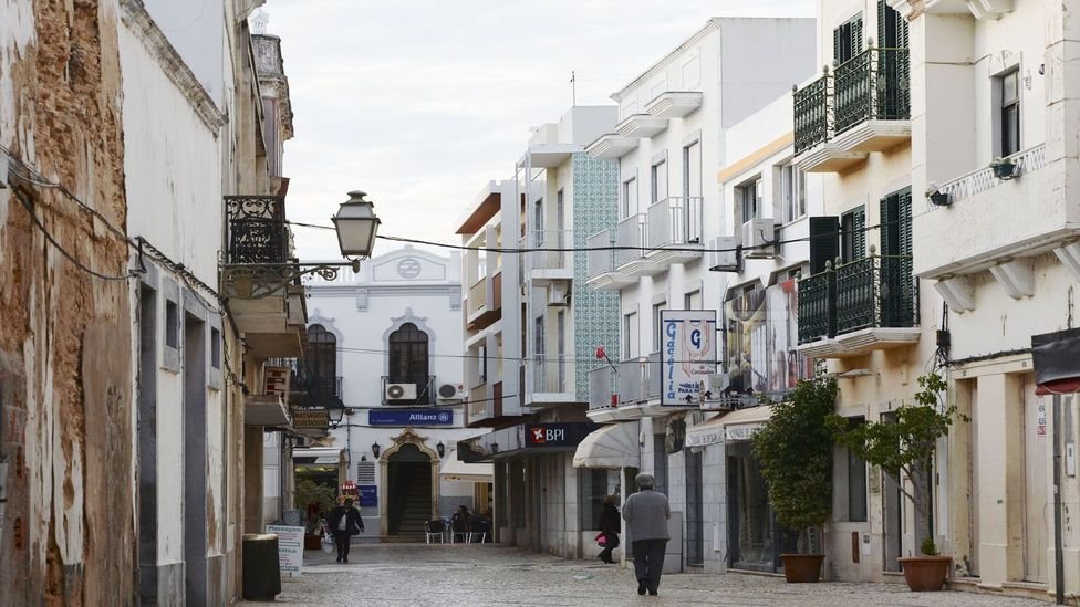 The author, encouraged by Sally to socialise, met her partner while out in Burgau (Credit: NurPhoto/Getty Images)