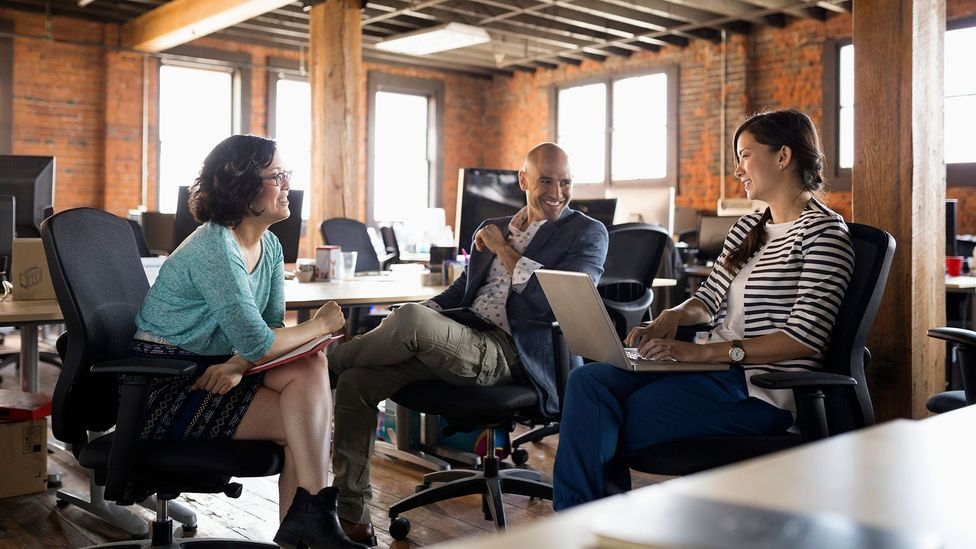 With constant coaching and mentoring, employees are more likely to stick around (Credit: Getty Images)