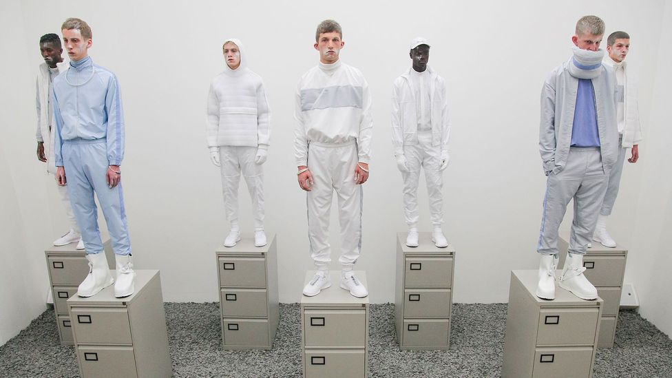 British brand Cottweiler, which has collaborated with Reebok, mixes men's sports dress with tailoring and fashion (Credit: Cottweiler)