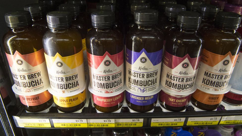 Kombucha: a fermented tea and, apparently, a drink popular with lazy, self-absorbed millennials (Credit: Getty Images)