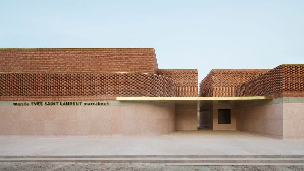 The Musée Yves Saint Laurent Marrakech is a 4,000 sq m new-build near the Jardin Majorelle (Credit: Musée Yves Saint Laurent Marrakech)