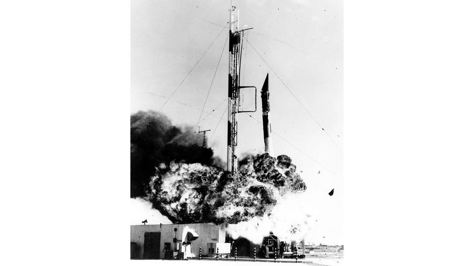 The Vanguard programme was beset with several launch failures (Credit: US Navy)